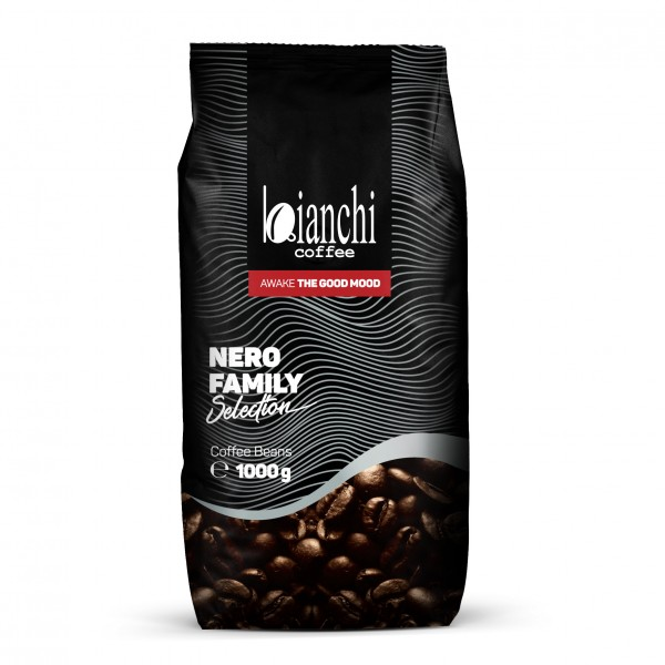 Bianchi Nero Family 1000 g на зърна