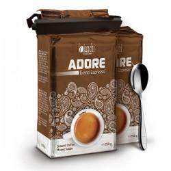 PROMO: 2xBianchi Adore Grand Espresso 250 g с подарък лъжичка и щипка