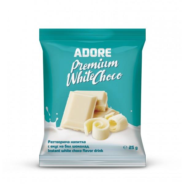 Adore Premium White Choco 25 g (в кутия 10 броя)