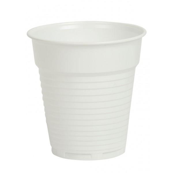 Чаши за вендинг DOPPLA бели 160 ml – 100 бр.