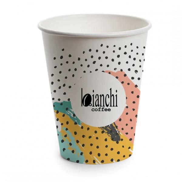 Картонени чаши Bianchi за вендинг 7,5 oz – 100 бр.