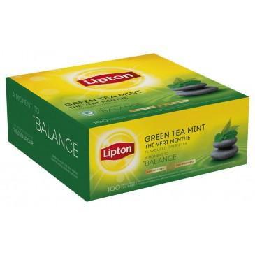 Lipton зелен чай с мента 25 бр.