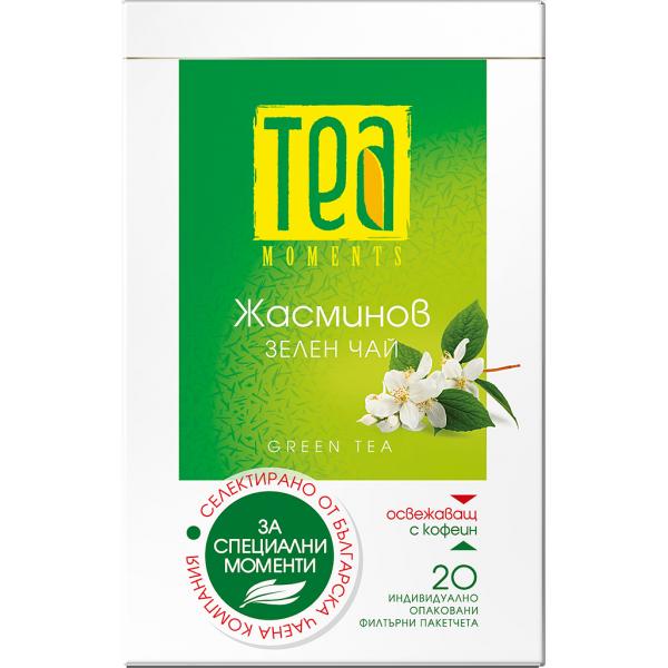Tea moments Зелен чай с жасмин